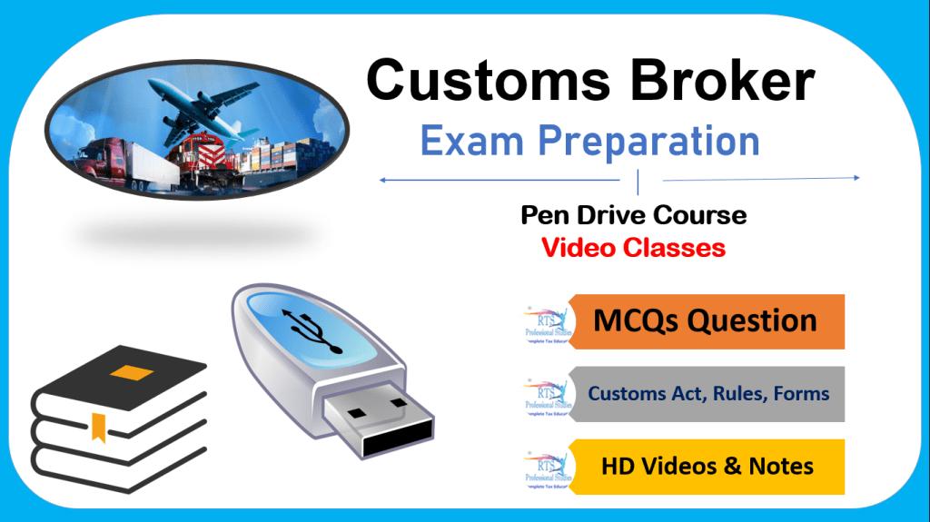 Custom Broker Exam Preparation