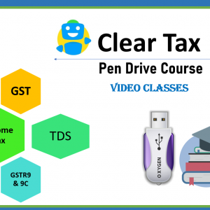 Clear Tax Pen Drive Course