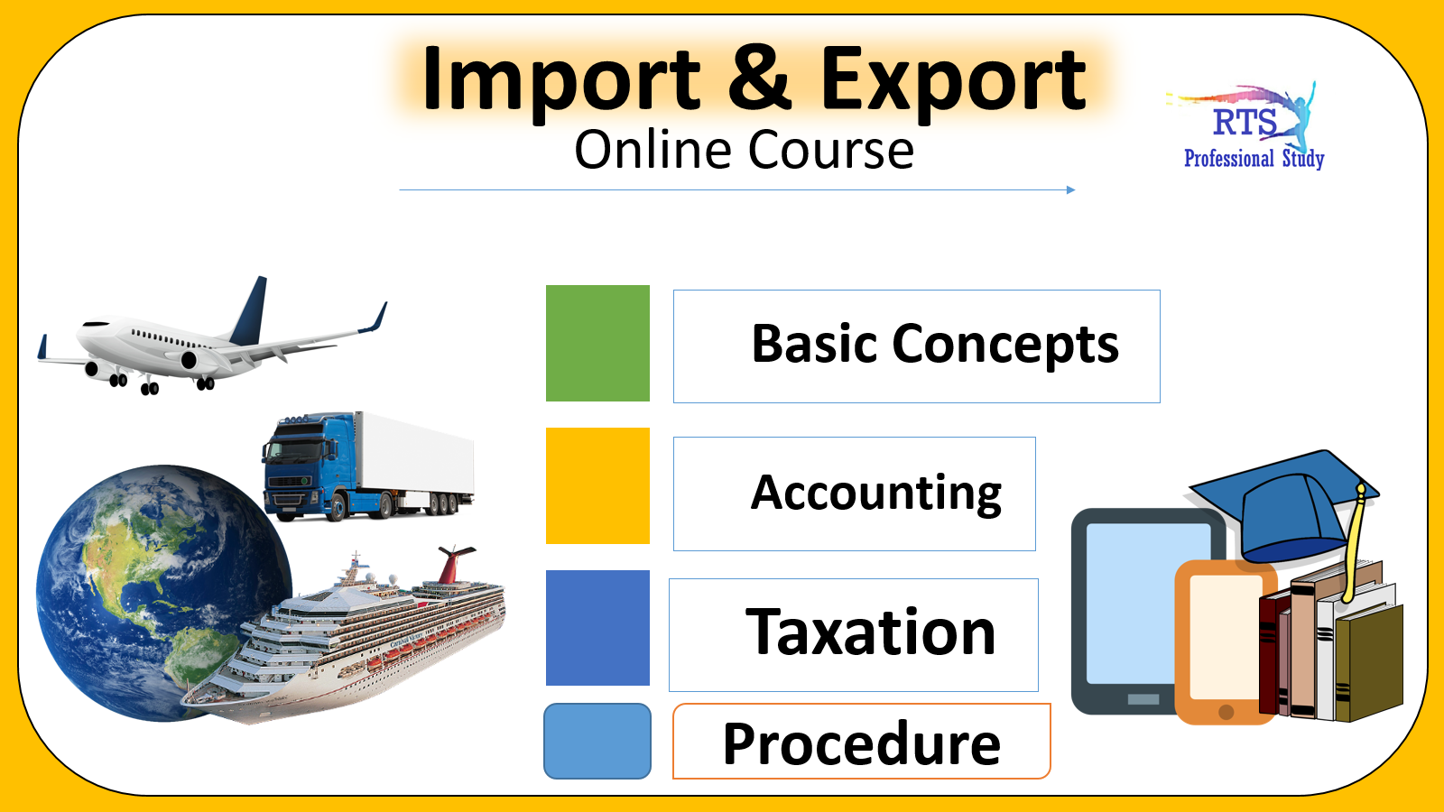 Import and Export ( Pen Drive Course )